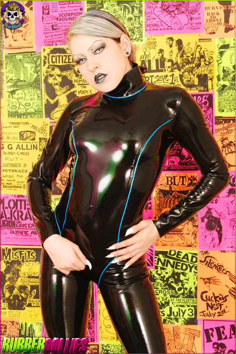 Fetish Dolly Rubber Catsuit