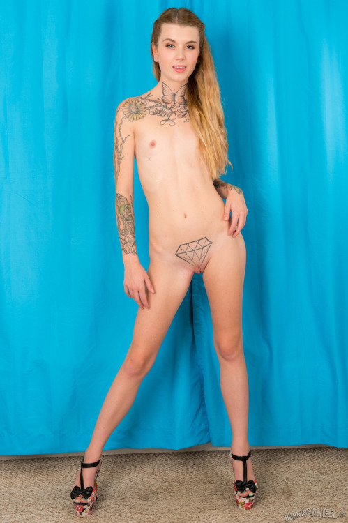 Perfect striptease of punk fetish girl joann 2